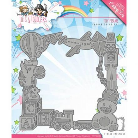 YCD10089 L ~ Tots & Toddlers ~ Toy Frame ~ Yvonne Creations
